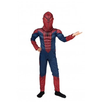 Костюм Человека паука комбинезон с мышцами