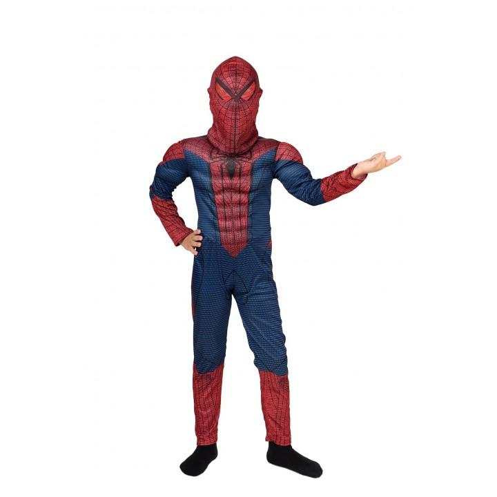 Костюм Человека паука с мышцами