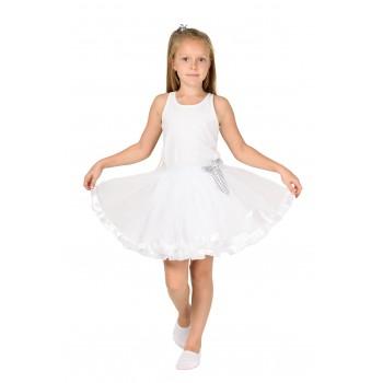 Фатиновая юбка белая