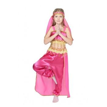 Костюм принцессы Жасмин, восточной красавицы малина
