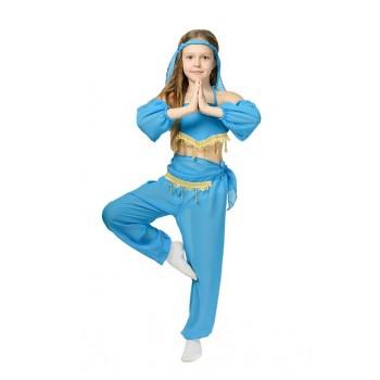 Костюм Восточной красавицы синий