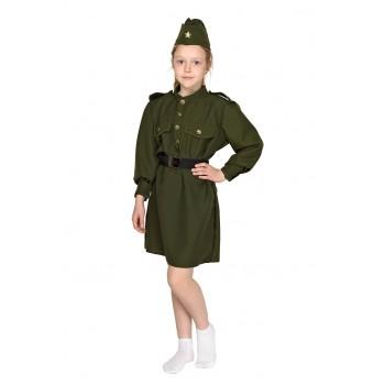 Костюм Военного Солдата для девочки